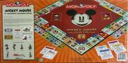 Monopoly Mickey Mouse 75 box rear