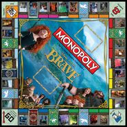 Monopoly Brave Board