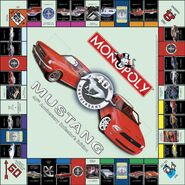 Monopoly Ford Mustang 40 anniversary board