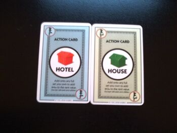 House and Hotel cards