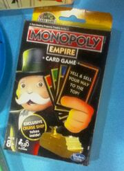 Monopoly Empire Card Game