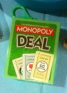 Monopoly Deal Keychain