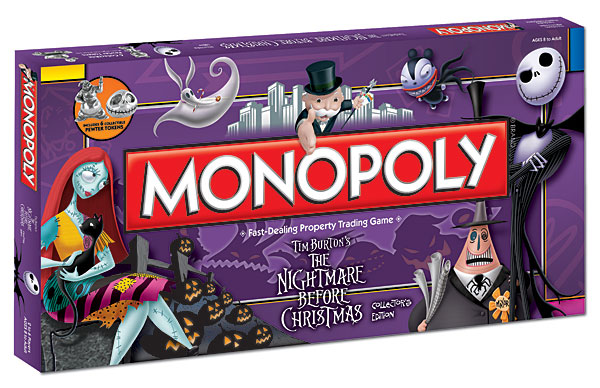 The Nightmare Before Christmas Collector's Edition | Monopoly Wiki ...
