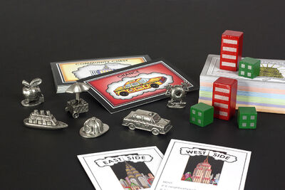 Fazzino Monopoly Components Black