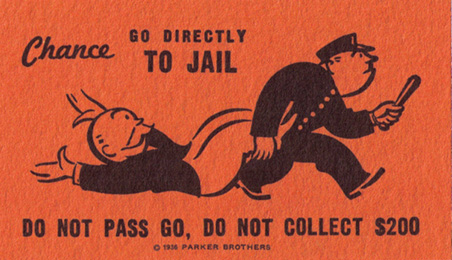 Go to Jail (card) | Monopoly Wiki | Fandom