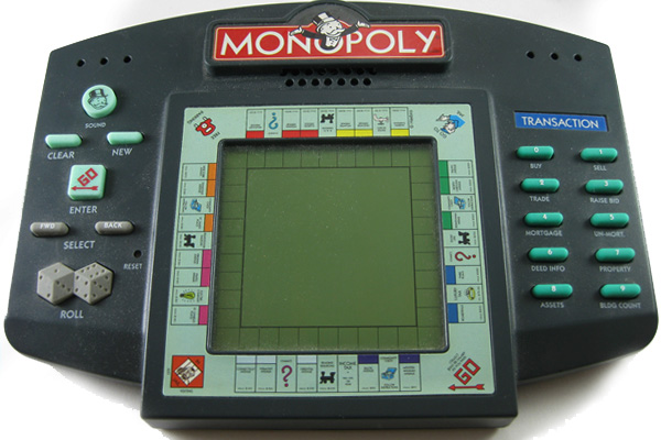 Monopoly Hand Held Electronic Game Monopoly Wiki Fandom Powered