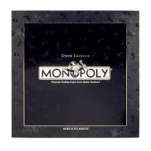 Monopoly Onyx Edition box