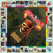 Monopoly Pirates Caribbean Collectors Edition board