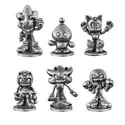 Monopoly Sonic Hedgehog tokens