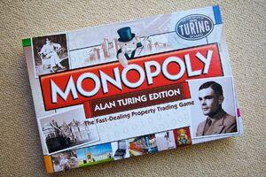 Monopoly Alan Turing Edition box