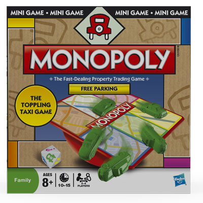 monopoly free parking the toppling taxi game monopoly wiki
