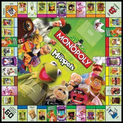 Monopoly Muppets board
