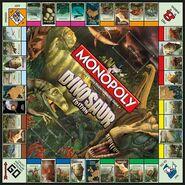 Monopoly Dinosaur Board