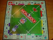 Monopoly NFL 1998 31-team Edition board 03