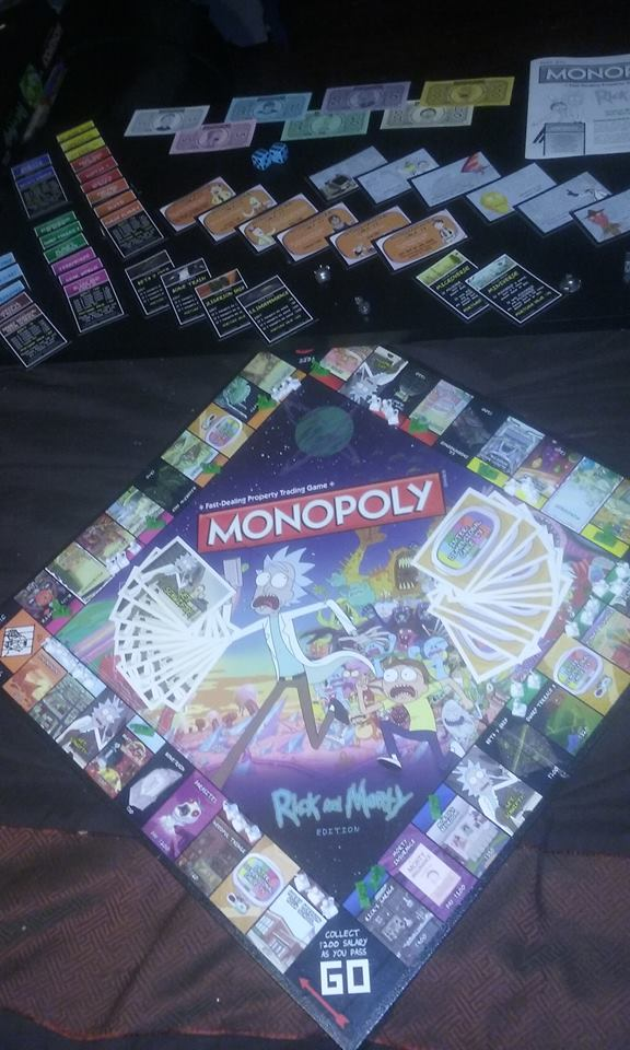 Rick and Morty Monopoly Monopoly Wiki FANDOM powered