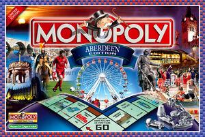 Monopoly Aberdeen Edition box