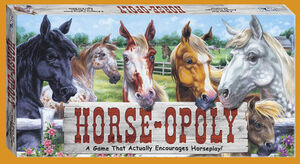 Horse-opoly box