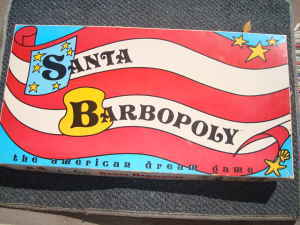 Santa barbopoly box
