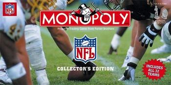 Monopoly NFL 1999 32-team Edition box 02