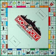 Monopoly Aberdeen Edition board
