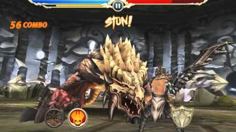 Monster Blade - Heroic Anahit (Gargoyle) Godbeast