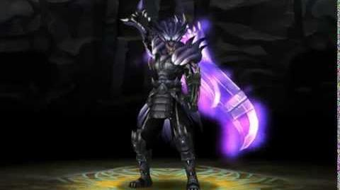 Monster Blade - Dark Wolf God Armor