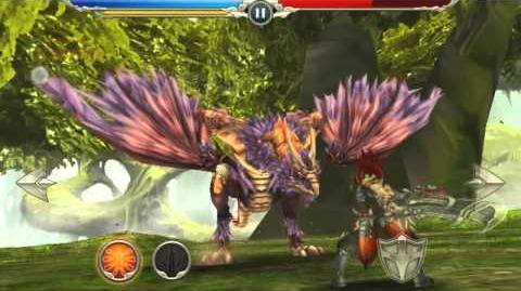Monster Blade - Heroic Nhang Agni (Wyvern) Godbeast