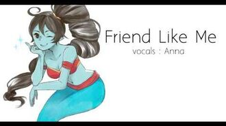 【Anna】Friend Like Me (female version) 『Aladdin』