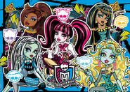 Clementoni-Monster-High-Puzzle-250-Teile-Be-yuouserlf-a-Monster-7524401