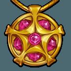 Flaming Amulet