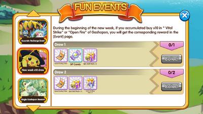 10x gashapon rewards