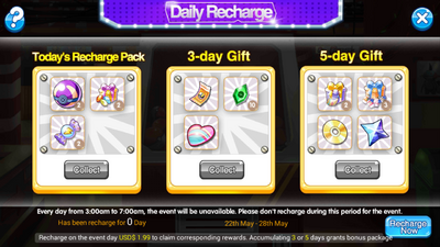 Daily pack