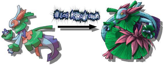 New Monster Redrawn Kimodrown