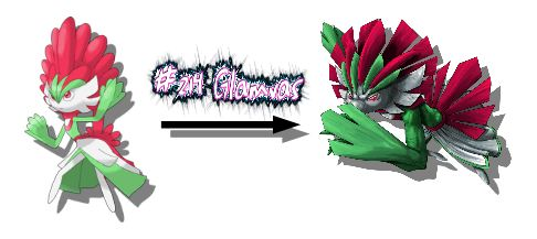 New Monster Redrawn Glamvas