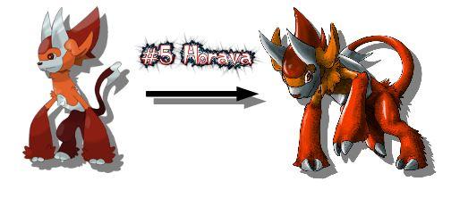 New Monster Redrawn Horava