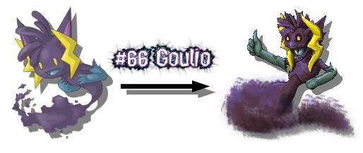 New Monster Redrawn Goulio