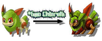 New Monster Redraw Chlorulk