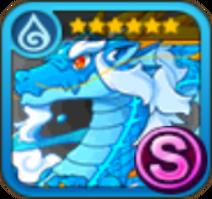 Blue Dragongod Icon