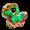 Burnbark Lizard Baby