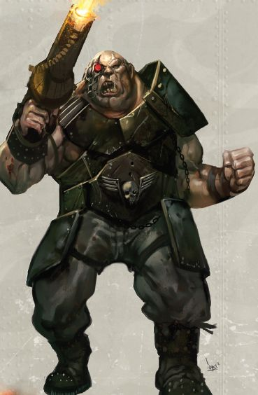 Ogryn Monster Wiki Fandom Powered By Wikia