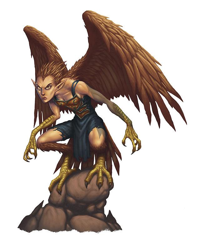 Harpy | Monster Wiki | FANDOM powered by Wikia
