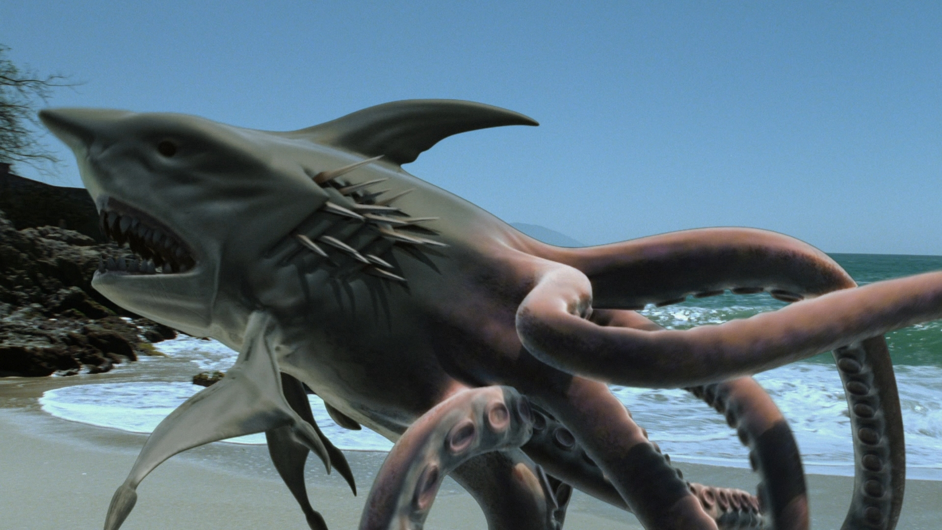 SHARKTOPUS - TRAILER - YouTube