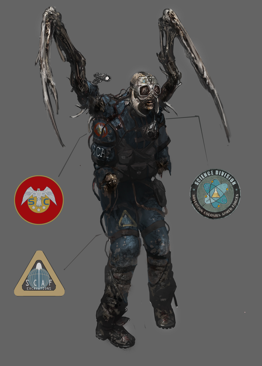 Twitcher   Monster Wiki   FANDOM powered by Wikia Dead Space 3 Monsters