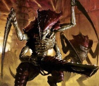 Tyranid Warrior | Monster Wiki | Fandom