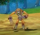 Wütender Wolf