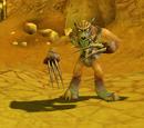 Wilder Ödlandwolf