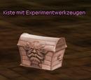 Kiste mit Experimentwerkzeugen