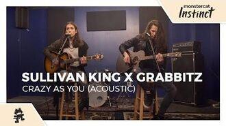 Sullivan King & Grabbitz - Crazy as You (Acoustic) -Monstercat Official Music Video-