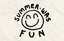 Summer Was Fun Logo