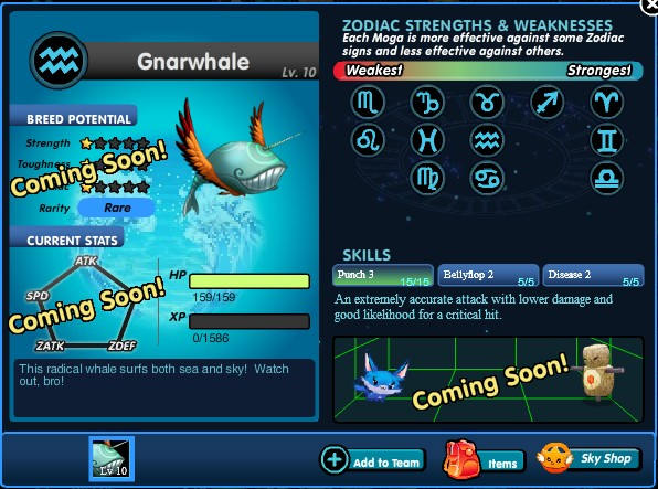 Gnarwhale profile